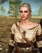 Ciri early model witcher 3 eurogamer