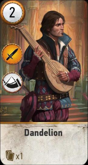 Dandelion (gwent card)