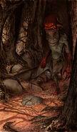 Gwent cardart monsters nekker warrior