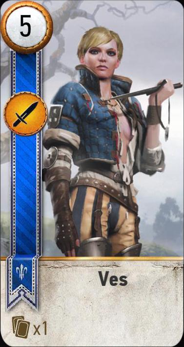 Ves (gwent card)