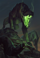 Gwent cardart monsters the beast