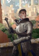 Gwent cardart northern cintrian knight