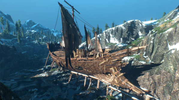 Ice Giant's Ship