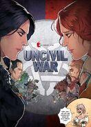 Tw comics Uncivil War detusch