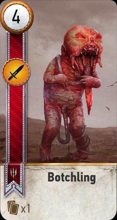 Botchling (gwent card)