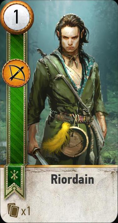Riordain (gwent card)