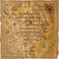 Map Swamp places of power