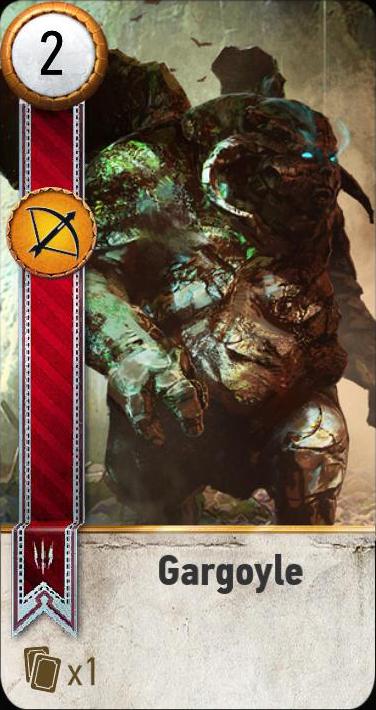 Gargoyle (gwent card)