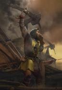 Gwent cardart northern siege master