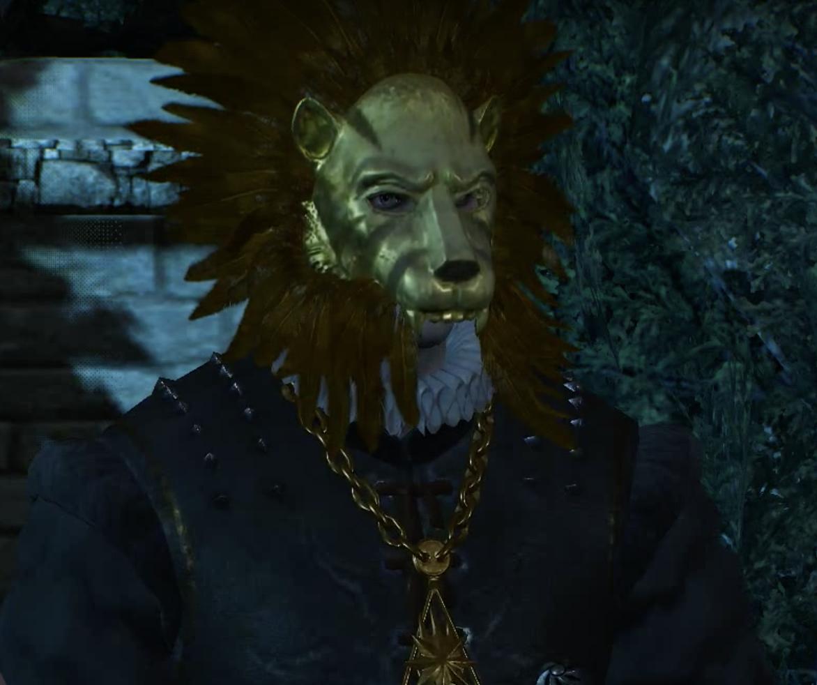General Voorhis mask