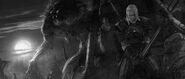 Tw3 flashback Geralt's alone Ending