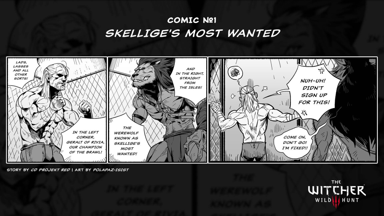 Skellige's Most Wanted (comic)
