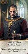 Tw3 gwent card face Emhyr var Emreis the White Flame