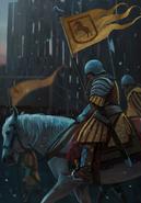 Gwent cardart northern kaedweni knight