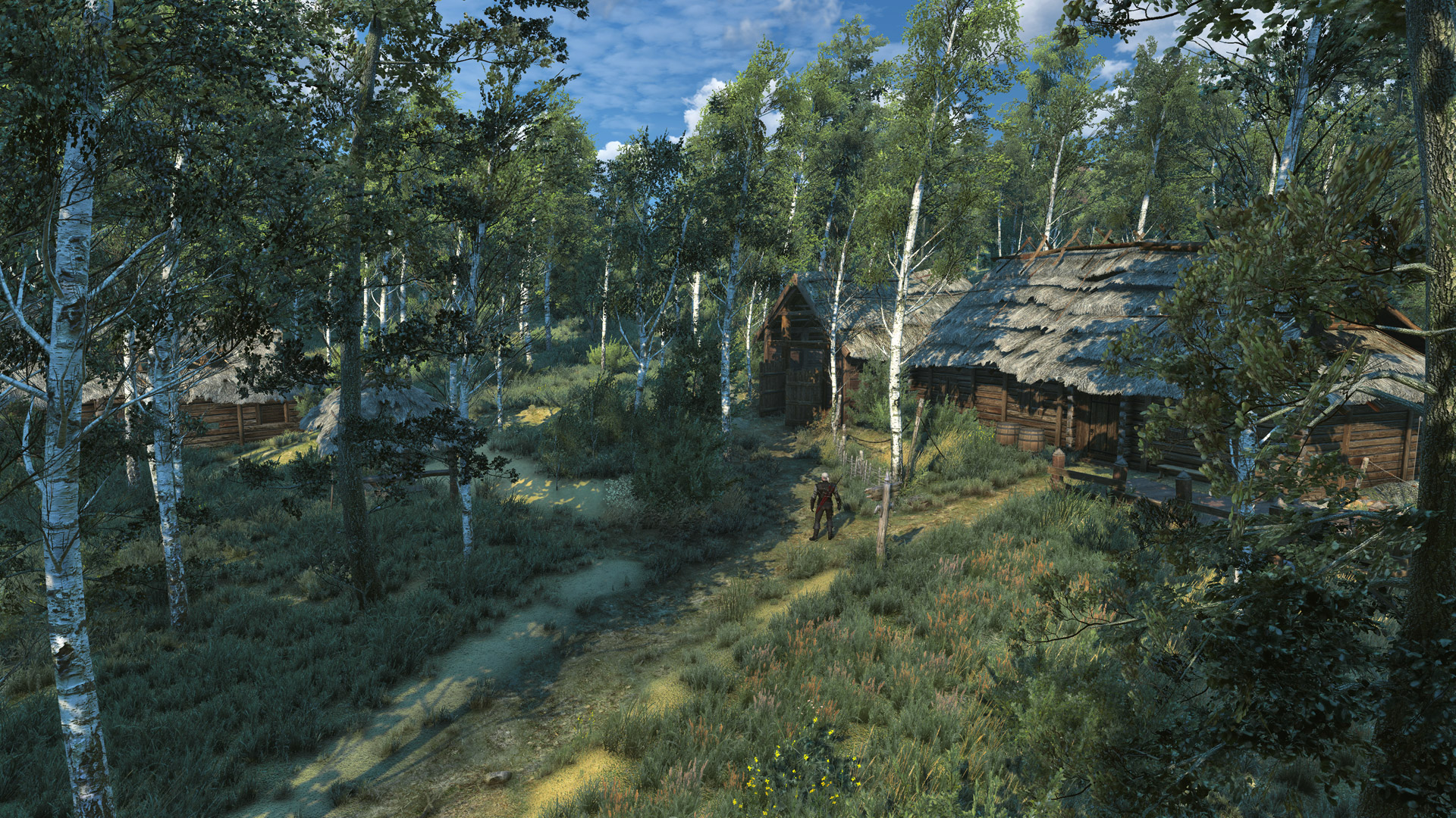 Isolated Hut