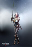 Ciri gamescom 2014 render ultra hq by scratcherpen