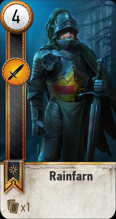 Rainfarn (gwent card)