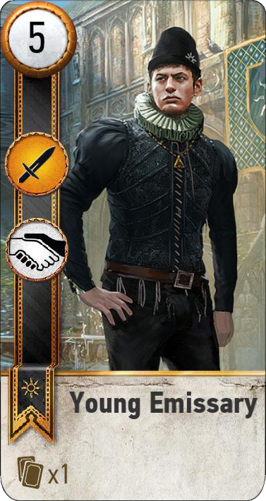 Young Emissary (gwent card)