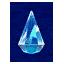 Polished crystal
