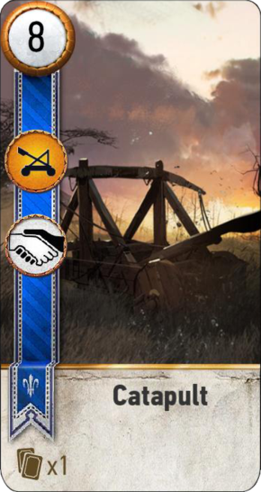 Catapult (gwent card)