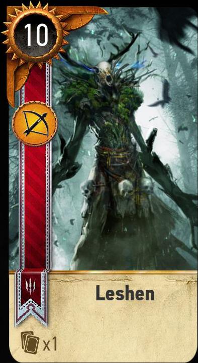 Leshen (gwent card)