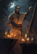 Gwent cardart monsters geels