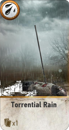 Torrential Rain (gwent card)