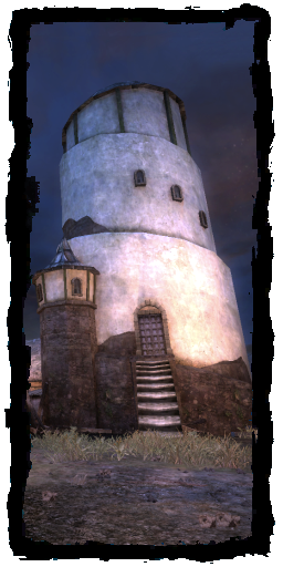 Solitary tower
