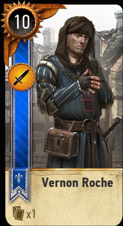 Vernon Roche (gwent card)