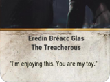 Eredin Bréacc Glas: The Treacherous (gwent card)