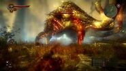 The Witcher 2 Killing the Kayran