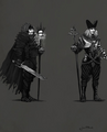 Tw3 Caranthir early sketches