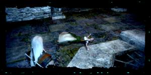 Geralt découvre le corps d'Ilsa