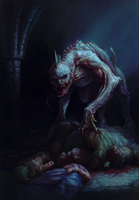 Gwent cardart syndicate arena ghoul