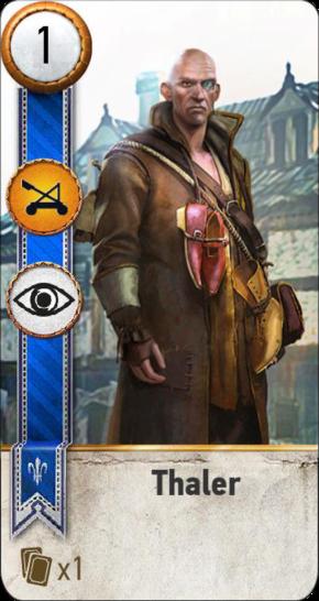 Thaler (gwent card)