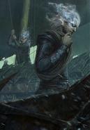 Gwent cardart monsters naglfar crew