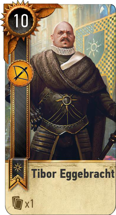 Tibor Eggebracht (gwent card)