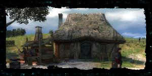 Casa e laboratorio del fabbro locale