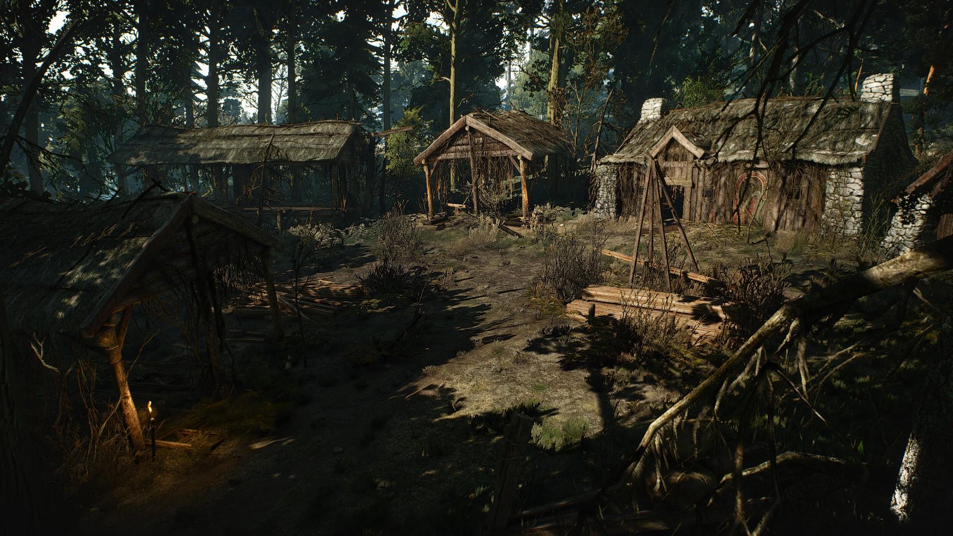 Abandoned Sawmill (location)