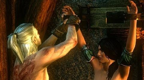 Baroness (Torture) Censored (The Witcher 2) HD