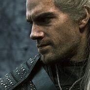 Netflix Geralt face