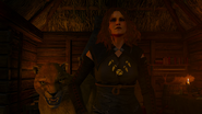 Tw3 Knights Tale witch and her animal