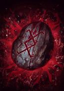 Gwent cardart monsters devana runestone