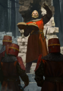 Gwent cardart northern cleric of the flaming rose