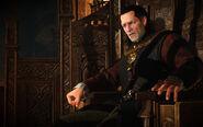 Tw3 Emhyr on throne