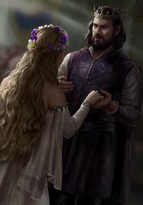 Gwent cardart northern viraxas king