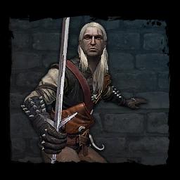 Geralt v deníku z PC hry