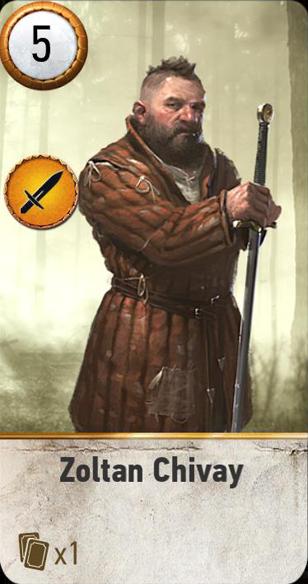 Zoltan Chivay (gwent card)