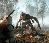Tw3 e3 2014 screenshot - Geralt vs werewolf