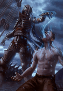 Gwent cardart monsters naglfar taskmaster